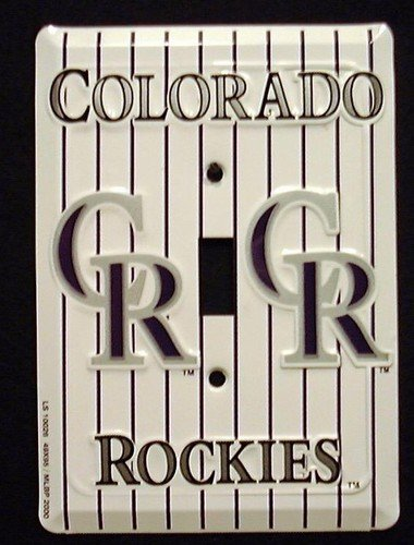 HangTime Colorado Rockies Light Switch Covers (single) Plates ()