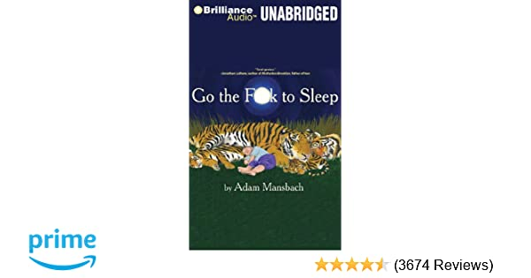 go the fuck to sleep book online
