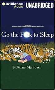 Go the f to sleep book amazon