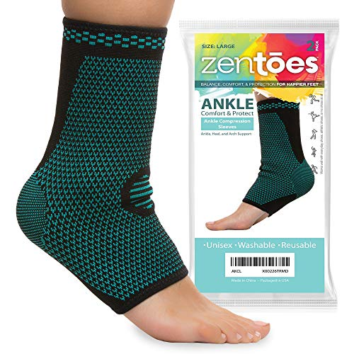 ZenToes Ankle Compression Sleeves Fasciitis product image