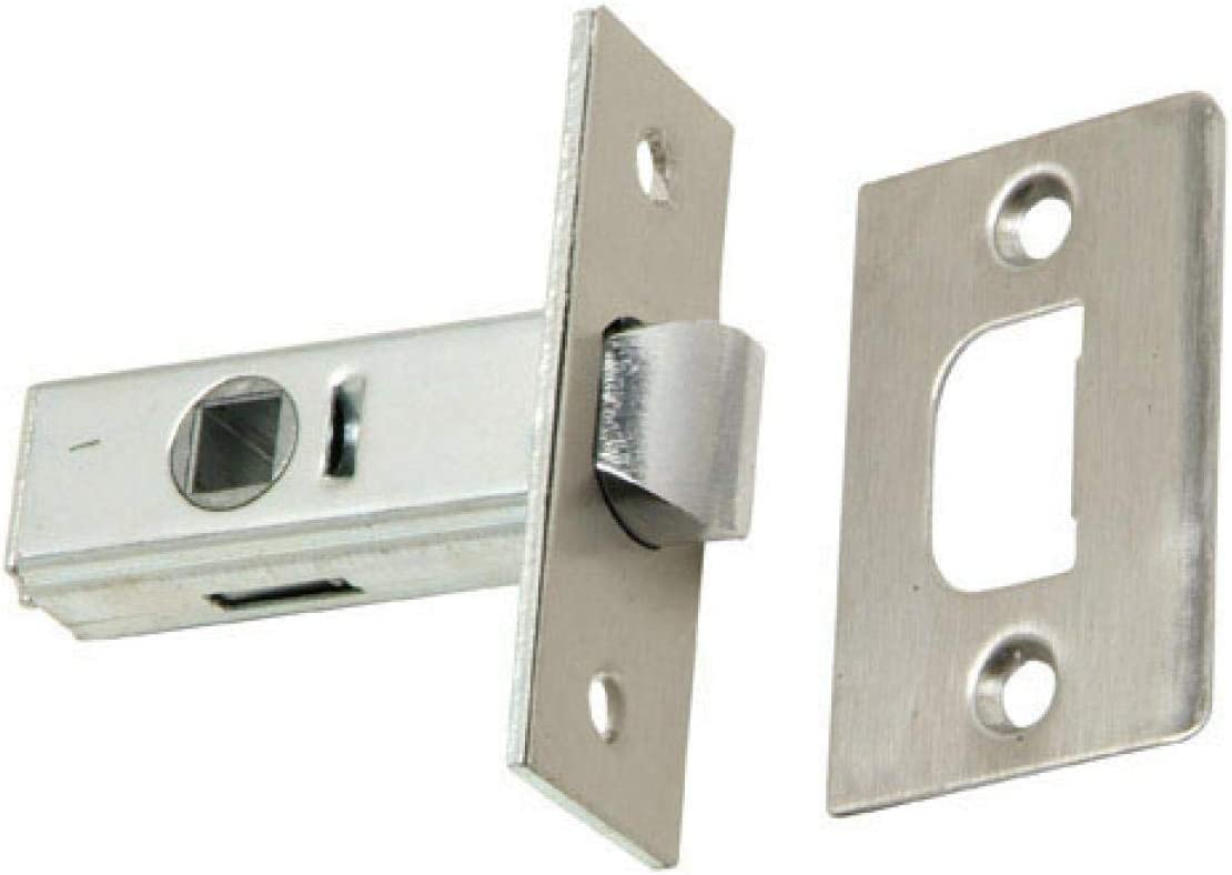 WOLFPACK LINEA PROFESIONAL 3090292 Picaporte Wolfpack Canto Cuadrado 35 mm. Inox