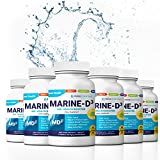 "Cheap Marine Essentials Vitamin D3 Omega 3 Fish Oil – ""Marine-D3"" 340mg Vitamin D3 DHA Anti Aging Omega 3 Fish Oil Dietary Supplement (360 Capsules)"