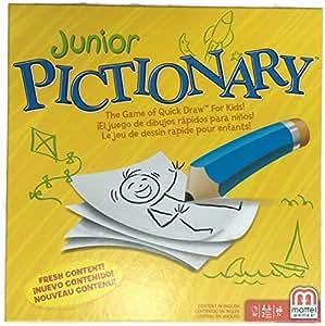 Amazon Com Mattel Pictionary Junior 2015 Edition Toys Games