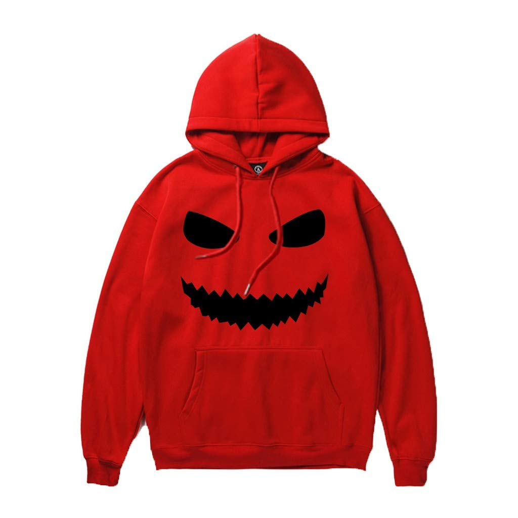 Fanteecy Sweatshirt Unisex Novelty Hoodies 3D Digital Print Sweatshirt Pockets Pullover Skeleton Sweatshirt by Fanteecy