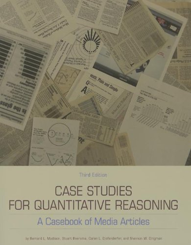 Case Studies F/Quantitative Reasoning