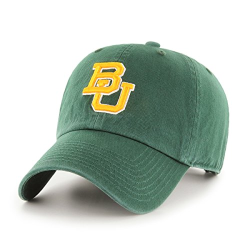 NCAA Baylor Bears OTS Challenger Adjustable Hat, Dark Green, One Size -