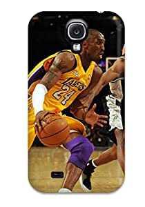 Tpu Shockproof/dirt-proof Los Angeles Lakers Nba Basketball (70) Cover Case For Galaxy(s4)