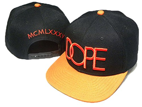hot sales 3952b cc34b Image Unavailable. Image not available for. Colour  Dope Couture High End  MCMLXXXV Snapback Hat Blk Red WHolesale