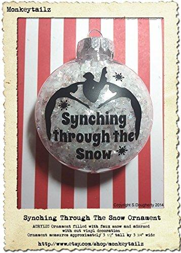 Synchronized Swimming Christmas Ornament ~ Synchro Swimmer