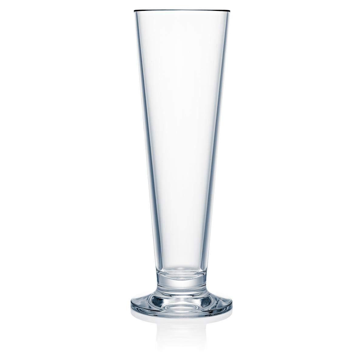Strahl Pilsner Glass (Set of 4), 16 oz, Clear