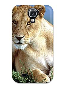 Awesome Case Cover/galaxy S4 Defender Case Cover(lion Image)