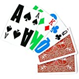 1 Deck E-Z See Special Playing Cards By Bicycle