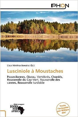 Livres gratuits Lusciniole Moustaches pdf epub