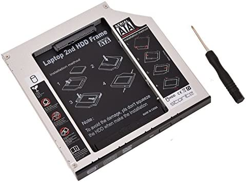 Amazon.com: 2.5 HDD Caddy 12,5 A 9,5 mm: Computers & Accessories