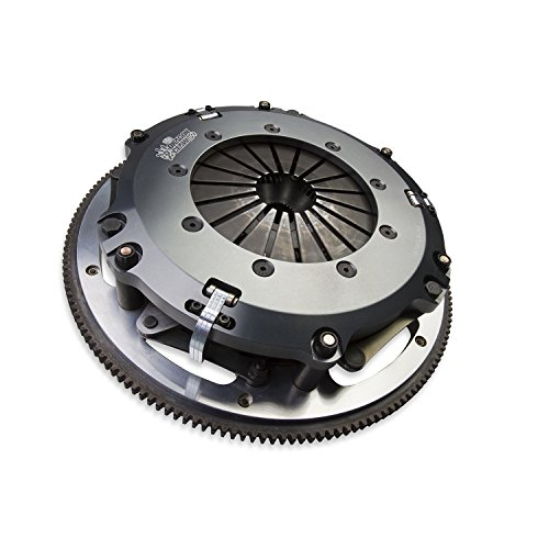 Hays 96-210 Dragon Claw Clutch Kit Dual 10 in. Discs 10 Spline by 1 1/16 in. Incl. Flywheel/Alignment Tool/Hardware Ceramic For Use w/QT Bell/Fork Dragon Claw Clutch ()