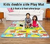 Ozoy Double Sided Water Proof Baby Mat Carpet Baby Crawl Play Mat Kids Infant Crawling Play Mat Carpet Baby Gym Water Resistant Baby Play & Crawl Mat(Medium Size - 6.5 Feet X 6 Feet)