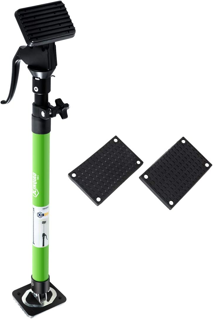 Quick Support Pole Adjustable, Task Pole 3rd Hand Support System, Heavy Duty Steel Rod (23.6-45.3 in), with TPR Pads (3.8 x 2.8 in) and Replaceable PVC Pads (5.2 x 3.2 in)