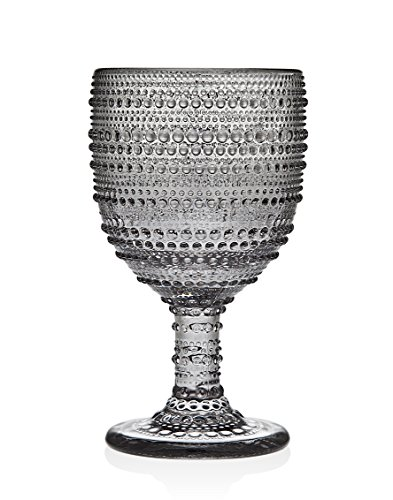 Godinger Lumina Set of 4 Goblets Smoke