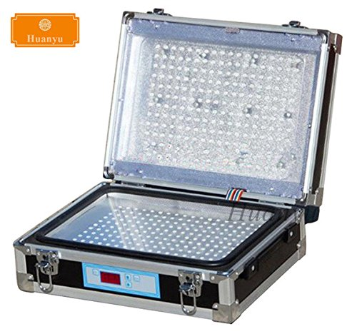 Huanyu Double Sides UV Light Exposure Machine UV Photosensitive Plate PCB Exposure Box by Huanyu Instrument