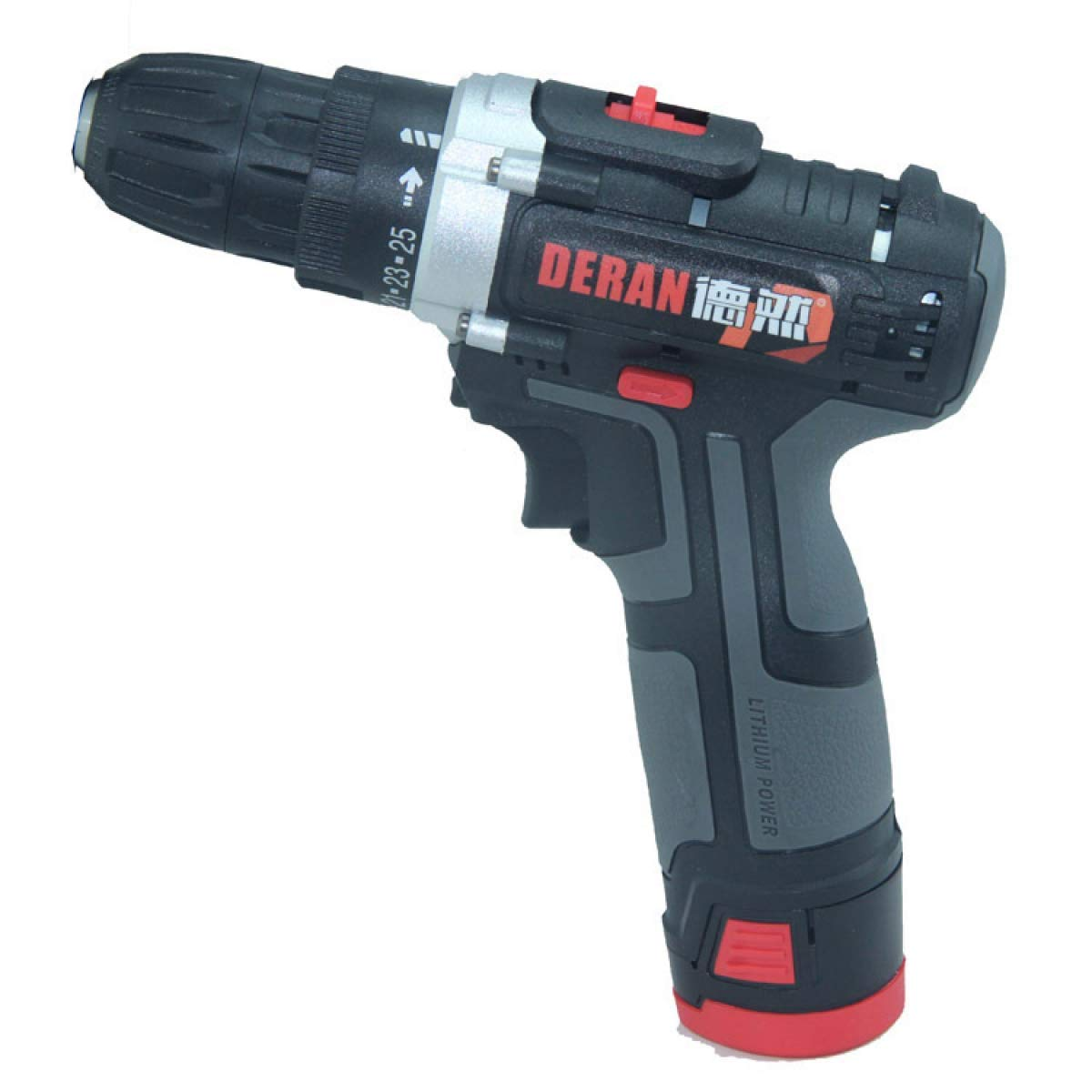 Cordless Drill Driver Lithium-Ion Combi Drill, Electric Screwdriver, Accessory Kit by XRPXRP