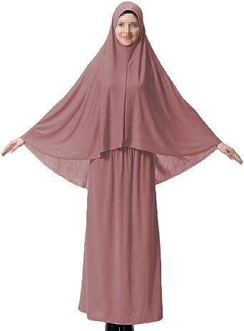 Spirio Women Islamic Kaftan Arab Muslim Ramadan Middle East Party Maxi Dress