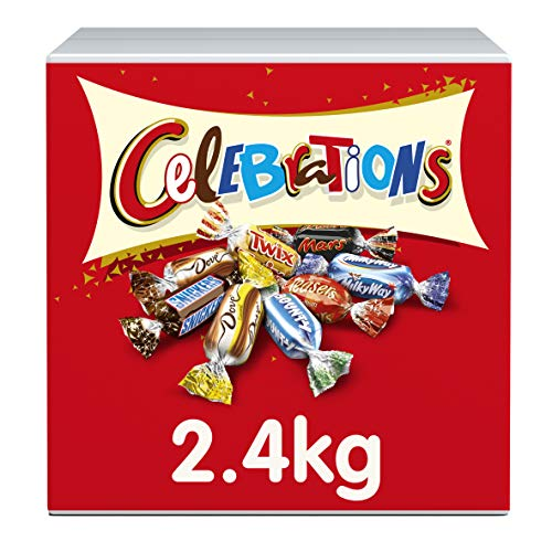 Chocolates Celebration (Celebrations Chocolate Bulk Case, 2.432 kg)