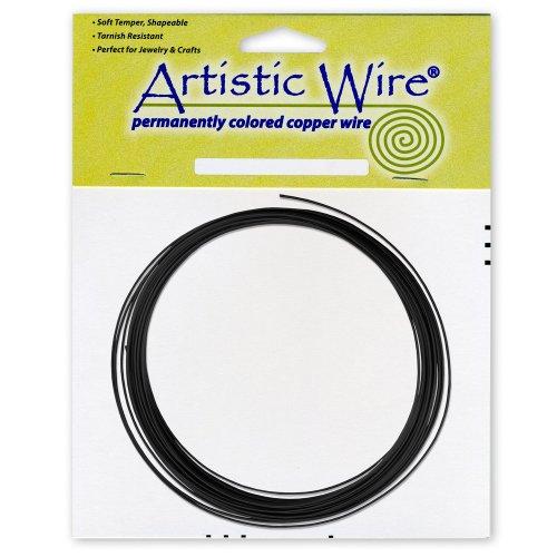 Artistic Wire 16-Gauge Black Coil Wire, 10-Feet