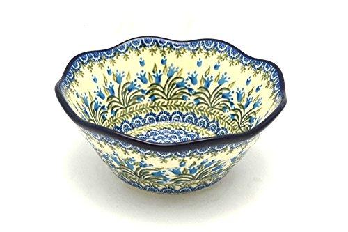Polish Pottery Bowl - Curvy Edge - 8