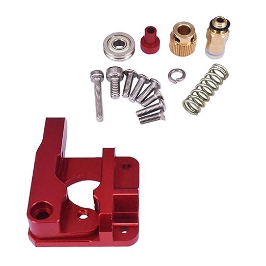 Kit extractor de metal Mk8 bloqueo extrusor partes de la impresora ...