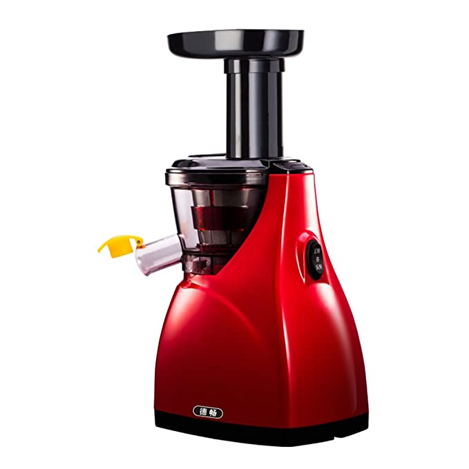 Juicer- Exprimidor Inicio Baja Velocidad Automático Original Sabor Multi-Función Exprimidor de Frutas y Verduras Mini Estudiante (Color : Red): Amazon.es