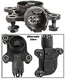 APDTY 028141 Valvetronic Eccentric Cam Shaft Sensor & Bolts (Replaces BMW 11 37 7 524 879, 11377524879)