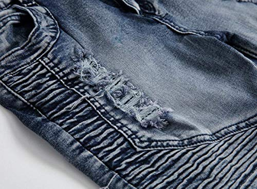 Denim Especial Uomo Estilo De403grau Stonewashed Regular Jeans Da Pantaloni Usati Fit 6HnAqX1XZ