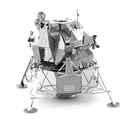 Fascinations Metal Earth Apollo Lunar Module 3D Metal Model (Astronomy Kits)
