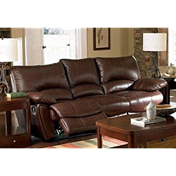 Coaster Home Furnishings Casual Motion Sofa, Dark Brown
