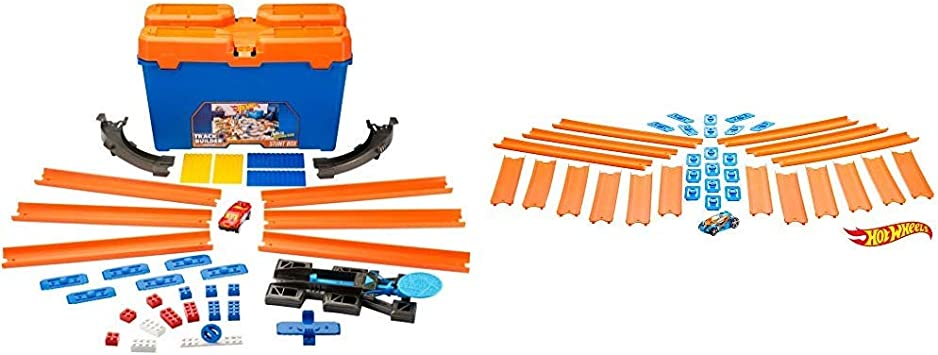 Hot Wheels Track Builder Caja de Acrobacias, Accesorios para ...