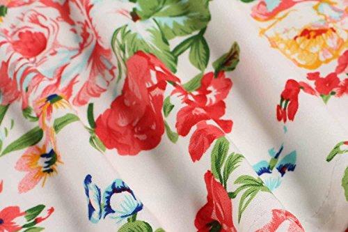 Dozenla Robes De Soirée Pour Les Femmes 2016 Haute Robe Taille Robes À Fleurs Pour Les Femmes Des Robes Blanches