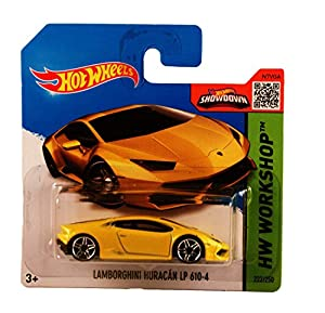 Hot Wheels Lamborghini Huracan LP 610-4: Amazon.co.uk ...