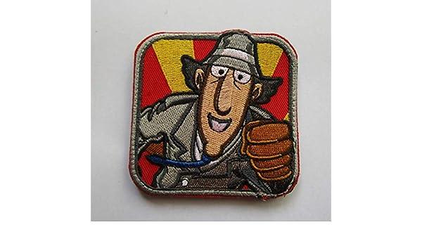 Inspector Gadget Detective Militar Patch Tela Bordado insignias ...