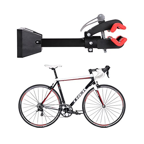 Gharpbik Workstands Bike Repair Stand Tool-Bike Wall Mount Bicycle Stand with Quick Release Adjustment Clamp Bicycle Stand Wall Mounted Foldable Maintenance for Garage or Home(Model:TQXL-06-I by Gharpbik (Image #6)
