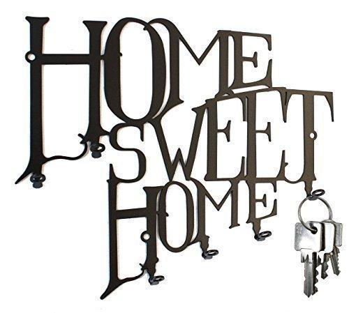 Schlüsselbrett / Hakenleiste * Home Sweet Home * - Schlüsselboard - 6 Haken