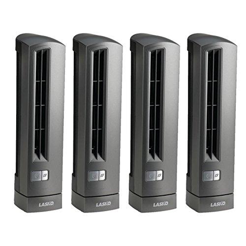Desk Ultra Stik Fan Slim - Lasko Air Stik Ultra Slim Oscillating Fan (4 Pack)