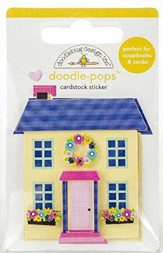Doodlebug Doodle-Pops 3D Stickers-Cute ()