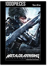 Metal Gear Rising Key Art 1000 Piece Puzzle