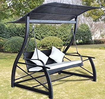 Amazon.com: Decoración de verano – Banco exterior Swing ...