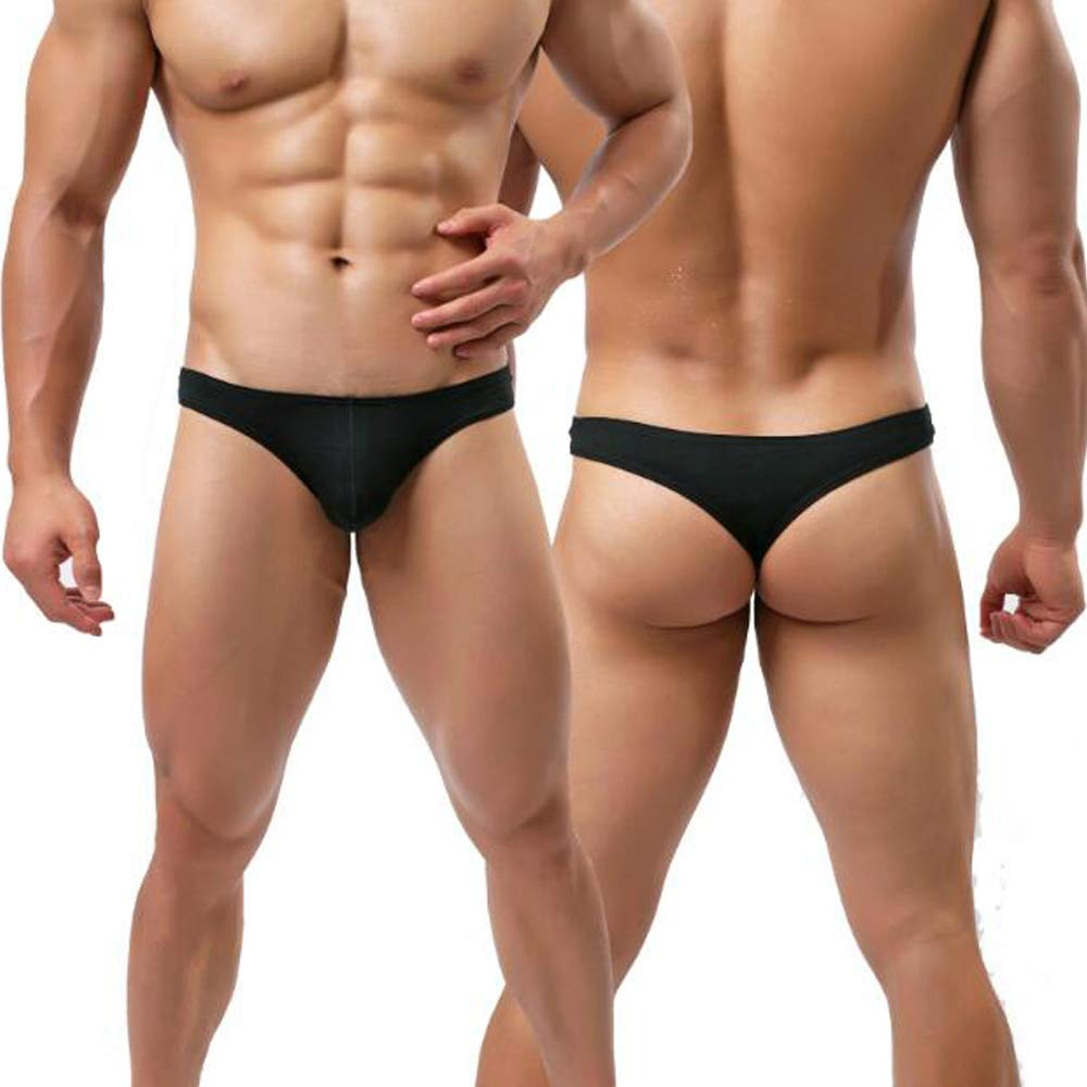 453ad31fbd1 Nightaste Men's G-String Thong Underwear 3-Pack Low-Rise Modal T-Back  Undies: Amazon.co.uk: Clothing
