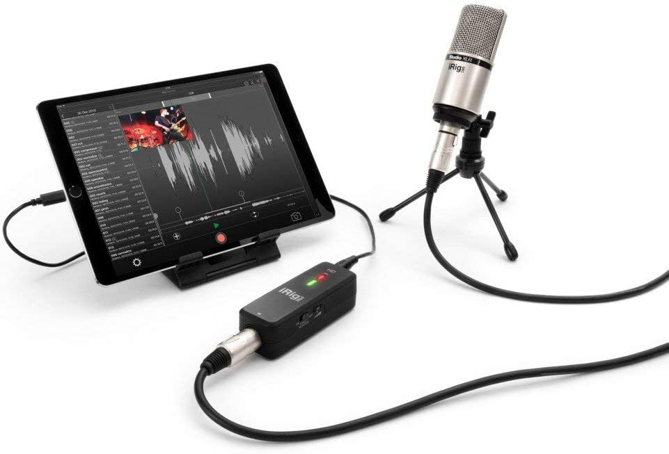 Amazon.com: IK Multimedia iRig Pre HD Digital Microphone Interface For  iPhone, iPad And Mac/PC: Musical Instruments