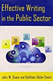 img - for Effective Writing in the Public Sector by Swain, John W., Swain, Kathleen Dolan (July 31, 2014) Paperback book / textbook / text book