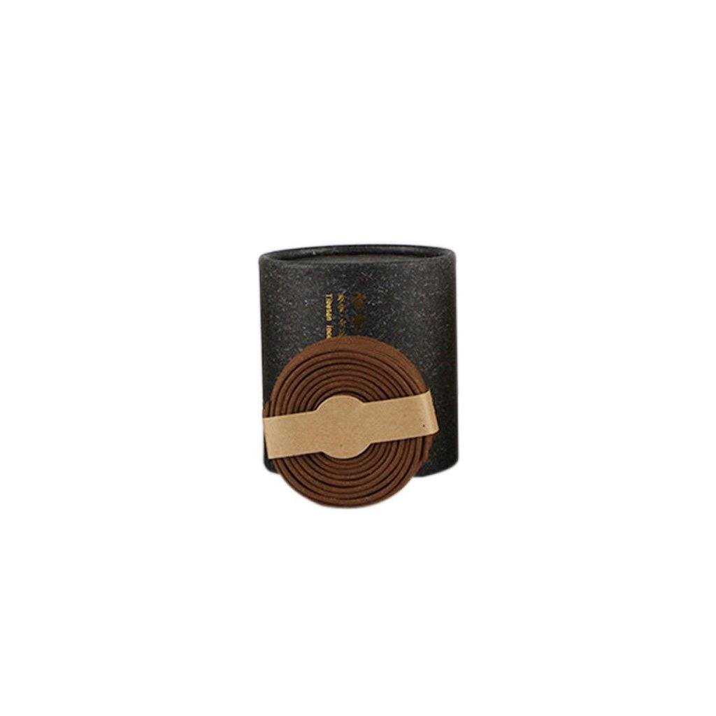 Blesiya 48pcs/Box Coil Incenses Home Office Hotel Room Toilet Fragrance Odor Removal - Tibetan