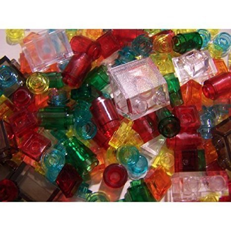 Lego 200 Plus Clear Trans Colors Car Lights