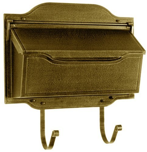 Special Lite Products SHC-1002-BRZ Classic Cast-Aluminum Horizontal Mailbox in Rubbed Bronze